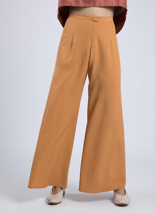 031c05866d Song Tu Wide Leg Silk Pants - Kumquat