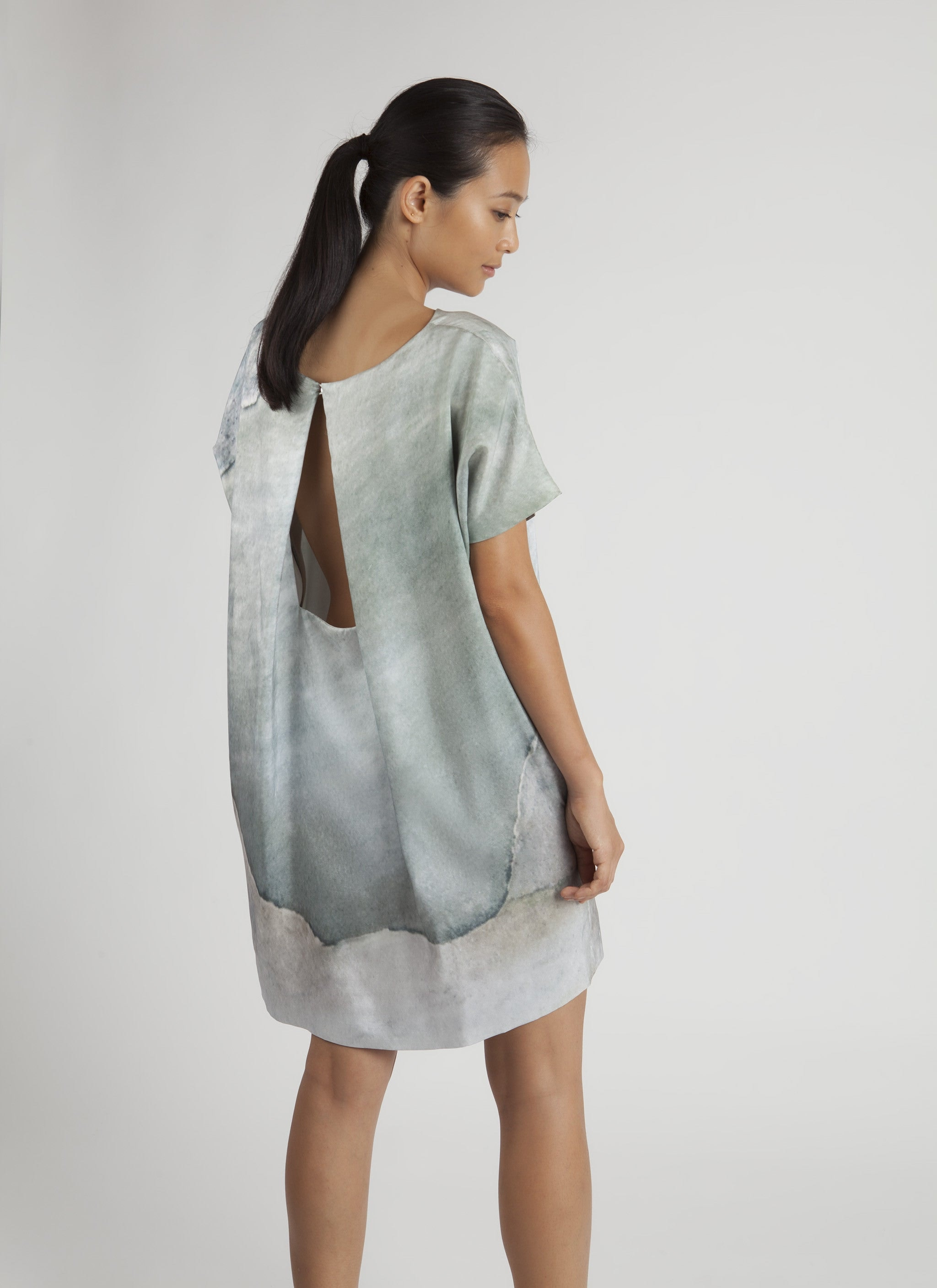 Mini Silk Dress